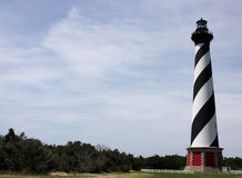 The Cape Hatteras Lighthouse Stock Photo