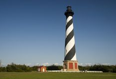 Cape Hatteras Lighthouse. In the Outer Banks, North Carolina stock photography