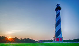 Cape Hatteras lighthouse at its new location  near the town of Bu Stock Images
