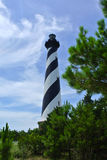 Cape Hatteras Lighthouse. Cape Hatteras Light is a lighthouse located on Hatteras Island in the Outer Banks in the town of Buxton, North Carolina and is part of stock photography