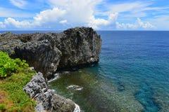 Cape Hedo coastline in the north of Okinawa Stock Photos