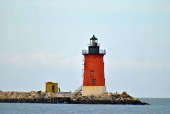 Cape Henlopen Lighthouse Royalty Free Stock Image