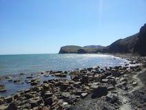 Cape on horizon Royalty Free Stock Image