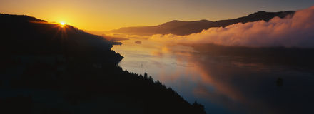 Cape Horn On The Columbia River Gorge Stock Photos