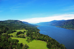 Cape Horn Scenic Viewpoint, Washington Travel Stock Photography