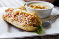 Cape House Lobster Roll Royalty Free Stock Photos