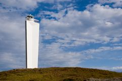 Cape Jervis Lighthouse Royalty Free Stock Photography