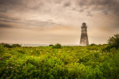 Cape Jourimain Lighthouse Royalty Free Stock Photos