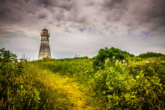 Cape Jourimain Lighthouse Royalty Free Stock Images