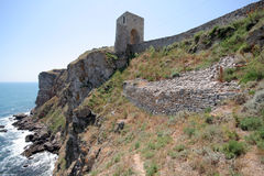 Cape Kaliakra fortress, Bulgaria Stock Image