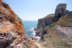 Cape Kaliakra fortress, Bulgaria Royalty Free Stock Images