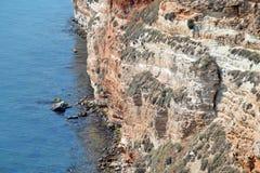 Cape Kaliakra Sea View Rock Bay Landmark Bulgaria. Rock Sea stock photo
