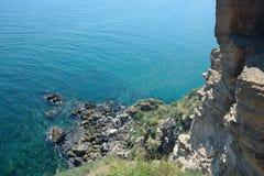 Cape Kaliakra Sea View Reef Landmark Bulgaria Stock Photo royalty free stock images