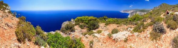Cape Keri panorama Royalty Free Stock Image