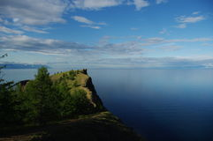 Cape of Khaboy. On island Olkhon Stock Photos