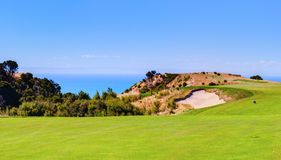 Cape Kidnappers golf court. New Zealand Royalty Free Stock Photos