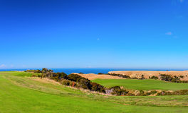 Cape Kidnappers golf court. New Zealand Stock Photos