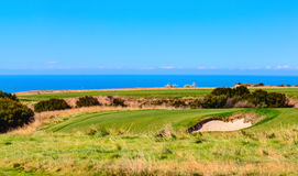 Cape Kidnappers golf court. New Zealand Royalty Free Stock Image