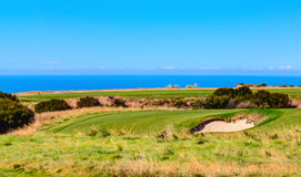 Cape Kidnappers golf court. New Zealand Stock Images