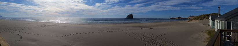 Cape Kiwanda pacific city oregon royalty free stock photos