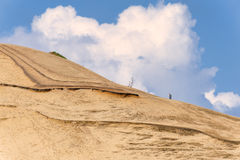 Cape Kiwanda sand covered hill Stock Images