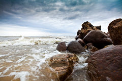 Cape Kolka in Latvia Royalty Free Stock Photo