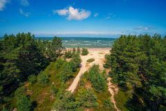 Cape Kolka, Latvia. Royalty Free Stock Photography