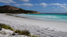 Cape Le Grand National Park, Western Australia stock footage