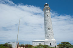 Cape Leeuwin Lighthouse Australia. Cape Leeuwin Lighthouse, near town of Augusta, Western Australia, where Southern and Indian Ocean meet royalty free stock images