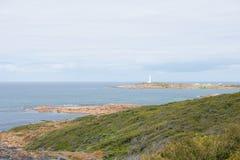 Cape Leeuwin Lighthouse Coast Australia Royalty Free Stock Photo