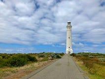 Cape Leeuwin Lighthouse on on headland of Cape Leeuwin, Western. Cape Leeuwin Lighthouse on on headland of Cape Leeuwin, south-westerly point of the Western stock image