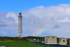 Cape Leeuwin Lighthouse. Protecting the coast royalty free stock photography