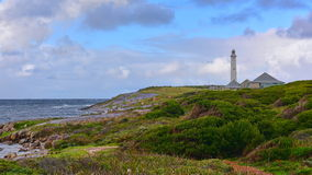 Cape Leeuwin Lighthouse. Protecting the coast royalty free stock photo