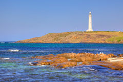 Cape Leeuwin Lighthouse Stock Photo