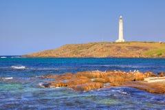 Cape Leeuwin Lighthouse stock photo