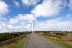 Cape Leeuwin Lighthouse, Western Australia. Cape Leeuwin Lighthouse, the most southwestern point of Australia where the Indian Ocean meets the Southern Ocean stock photos