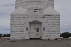 Cape leeuwin lighthouse Port Augusta Western Australia. Cape leeuwin lighthouse Western Australia on the headland of Cape Leeuwin, the most south-westerly point royalty free stock images