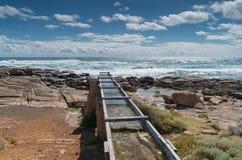Cape Leeuwin, Western Australia. Old watermill on the coast of Cape Leeuwin, Western Australia stock images