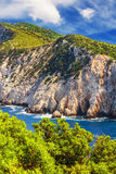 Cape Lefkatas, Lefkada, Greece Stock Photography