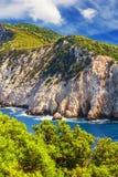 Cape Lefkatas, Lefkada, Greece. Cape Lefkatas on Lefkada island, Greece Stock Photography