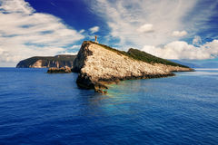 Cape Lefkatas, Lefkada, Greece Royalty Free Stock Images
