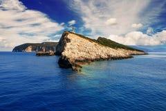 Cape Lefkatas, Lefkada, Greece. Cape Lefkatas on Lefkada island, Greece Royalty Free Stock Images