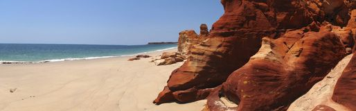 Cape Leveque near Broome, Western Australia Stock Photography