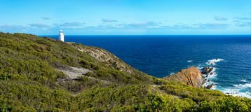 Cape Liptrap Lighthouse, Coastal Park, Australia Royalty Free Stock Photo