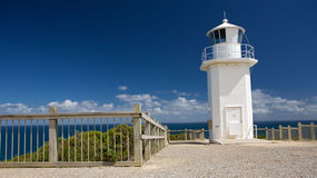 Cape Liptrap lighthouse at the sea, Australia royalty free stock photos