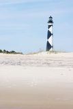 Cape Lookout. Lighthouse on the outer banks in North Carolina Royalty Free Stock Images