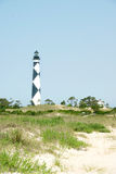 Cape Lookout. Light House in North Caolina's Outer Banks Royalty Free Stock Photos