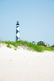 Cape Lookout Light House. In North Caolina's Outer Banks Royalty Free Stock Photo