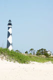 Cape Lookout Light House. In North Caolina's Outer Banks Stock Photography