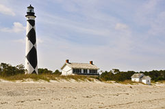 Cape Lookout Lighthouse. The Cape Lookout Lighthouse on the North Carolina Coast Royalty Free Stock Photography